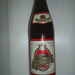 Tuto láhev se mi podařilo získat od pana Starosty ze Študlova-ještě jednou děkuji! Láhev nebyla nikdy otevřena.