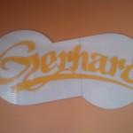 Cedule Gerhard