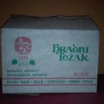 Lepenková krabice na 20 ks piv